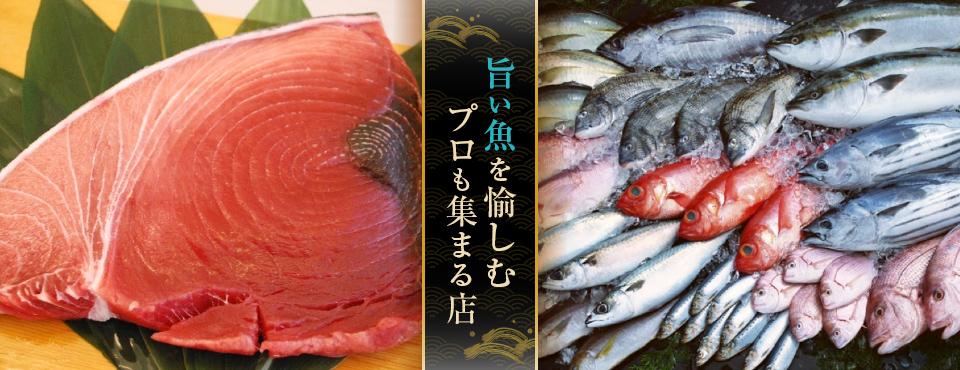 鮮魚を愉しむ本格和食店